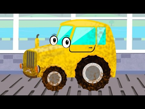 Tractor | Car Wash | Farm Vehicle | Game for Kids & Toddlers