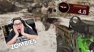 TIJDSLIMIET TEGEN ZOMBIES! - DIE MASCHINE CRANKED ZOMBIES (Call of Duty: Cold War)