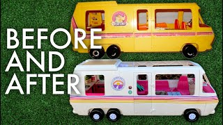 EPIC RV RENOVATION FOR BARBIE : Adventuring Family of 11 Video