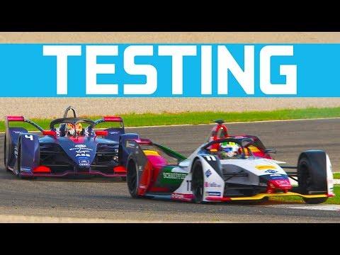 Massa, Vergne And Buemi Take To The Track In Valencia Testing