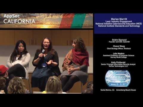 APPSEC CA 2017 Panel: Women in Security