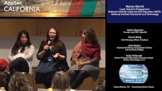 APPSEC CA 2017 Panel: Women in Security