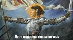 Chant à Sainte Jeanne d'Arc (français ST)