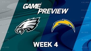 Philadelphia Eagles vs. Los Angeles Chargers | Week 4 Game Preview | NFL