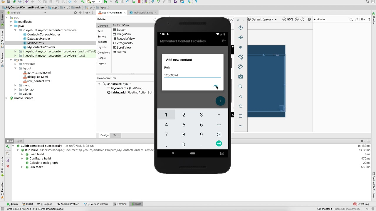 Content Providers and ContentResolver in Android - EyeHunts