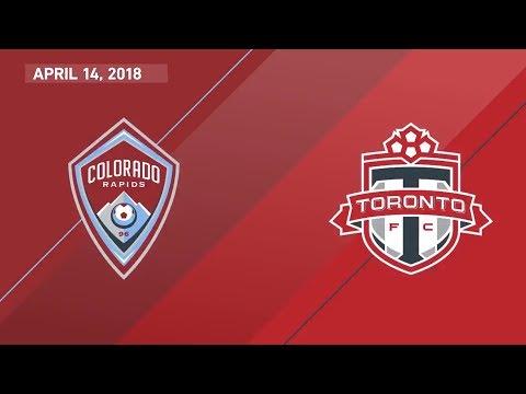 HIGHLIGHTS: Colorado Rapids vs. Toronto FC | April 14, 2018