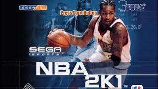 NBA 2K1 Exhibition (Sega Dreamcast)