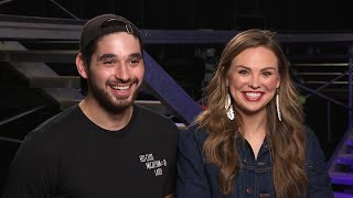 DWTS Tour: Hannah Brown and Alan Bersten on What to Expect, Their Big Win and Cast Pranks!