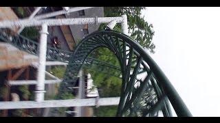 Untamed POV Roller Coaster Canobie Lake Park 2011 Front Seat Onride 1080 HD