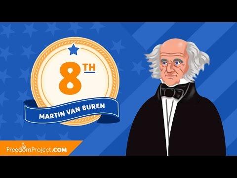 Martin Van Buren | Presidential Minute