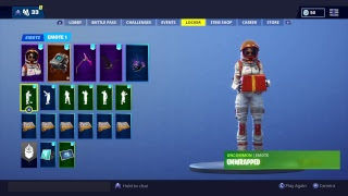 Fortnite:UnWrapped emote with all skins