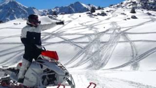 Симфония гор для снегохода (symphony of the mountains for a snowmobile)