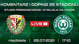 Śląsk Wrocław - Warta Poznań (LIVE, stream, na żywo)