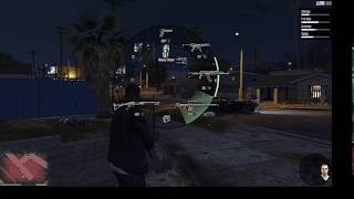 AK 47 Shooting in GTA V | Game Tricks