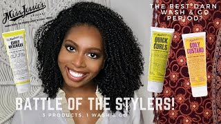 Miss Jessie's | Battle of the Stylers | 3 Products, 1 Wash & Go