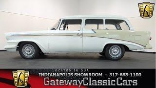 1958 Studebaker Scotsman Wagon #362-ndy - Gateway Classic Cars - Indianapolis