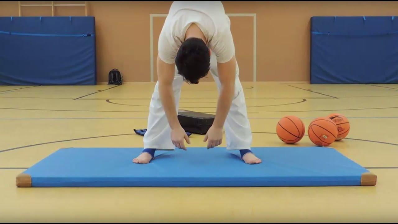 Taekwondo Übungen Anfänger Dehnen Stretchen Spagat Part 2