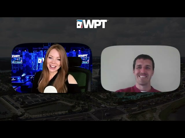 Michigan Nurse Brek Schutten Plays for Life-Changing Money in Las Vegas!   World Poker Tour
