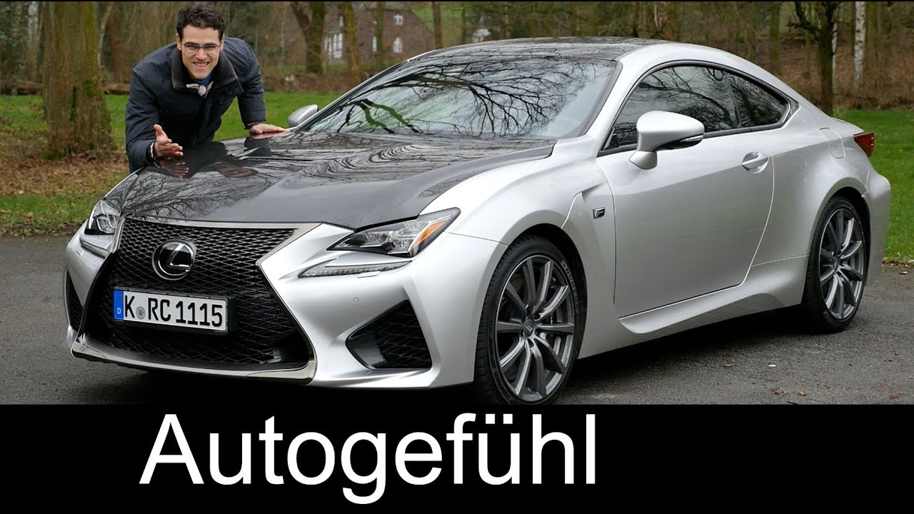 lexus rc f carbon full review test driven top version 5 0 l v8 480 hp new neu 2016 youtube. Black Bedroom Furniture Sets. Home Design Ideas