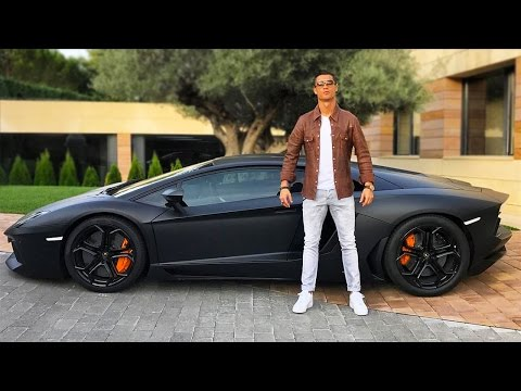Check Out Cristiano Ronaldo's $4.9 Million Car Collection