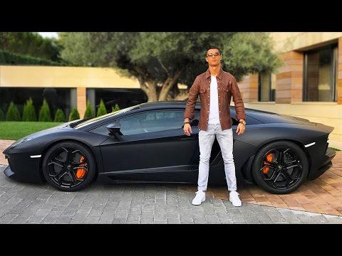 Check Out Cristiano Ronaldo's $4.9 Million Car Collection