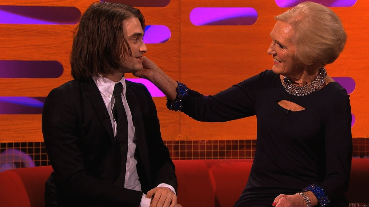 Daniel radcliffe chats about his hair extensions the graham daniel radcliffe chats about his hair extensions the graham norton show episode 8 bbc one youtube pmusecretfo Choice Image