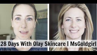 28 Days Of Olay Skincare | MsGoldgirl