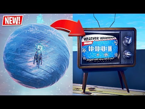 Fortnite ICE STORM EVENT is Happening RIGHT NOW!! thumbnail