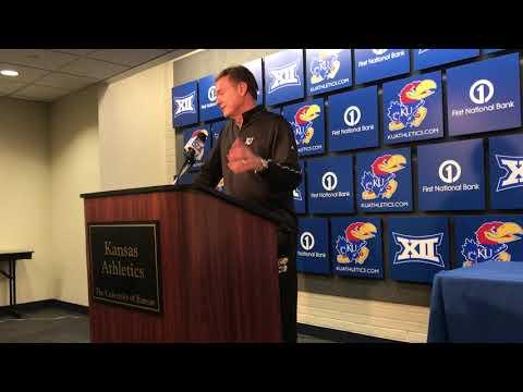 KU coach Bill Self previews West Virginia