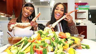 Seafood Boil with Kash Doll