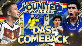 FIFA 18: YOUnited WORLD CUP TOTS REUS #02 - Das legendäre COMEBACK 🔥🔥