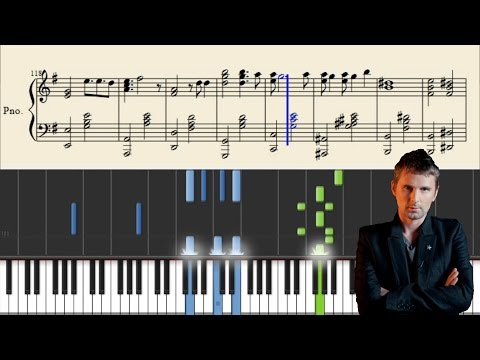 Muse - New Born - Advanced Piano Tutorial + Sheets