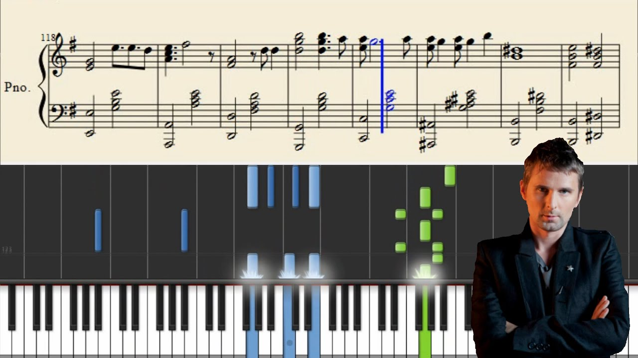 Muse New Born Advanced Piano Tutorial Sheets