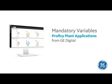 Mandatory Variables