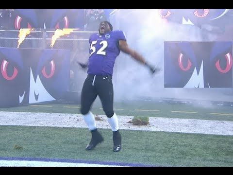 RAY LEWIS FINAL LAP LAST HOME GAME M&T BANK STADIUM BALTIMORE MD