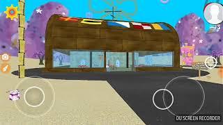 Playing SpongeBob Bikini Bottom 3D Game