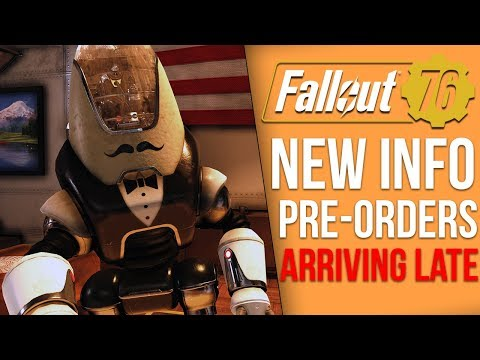 Fallout 76 News - Pre-orders Arriving Late, Power Armor Edition Controversy, Atomic Shop Price Leak