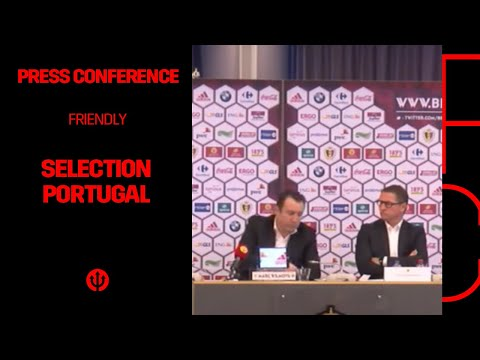 Press conference Marc Wilmots: selection Belgian Red Devils Portugal