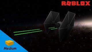 ROBLOX STUDIO SPEED BUILD / Star Wars TIE Fighter