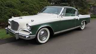 1956 Studebaker Golden Hawk.  Charvet Classic Cars.