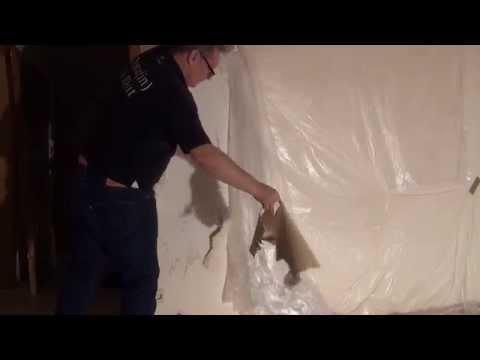 Tapeten Entfernen, Remove Wallpaper, The Easy Way