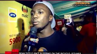 SEAN TIZZLE ISN'T SLEEPING ON THE BICYCLE -  D'TUNES