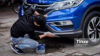 Mẹo khắc phục vết xước sơn nhỏ trên xe ô tô |TINXE.VN|