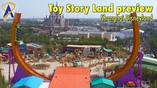 Toy Story Land preview at Shanghai Disneyland