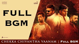 Chekka Chivantha Vaanam - Full BGMs | Nawab | A. Rahman | Mani Ratnam