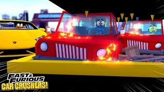 SMASH AND BASH - FAST - FURIOUS CAR CRUSHERS - Aventures de jeu Roblox