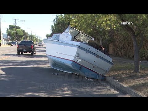 Boat Found Parked On City Streets