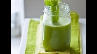Gerson Therapy: Juicing: - Green Vegetable Juice (2015 update)