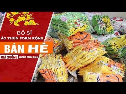 Kho sỉ quần áo tại Hà Nội – Chuyên bỏ sỉ áo thun teen giá gốc toàn quốc
