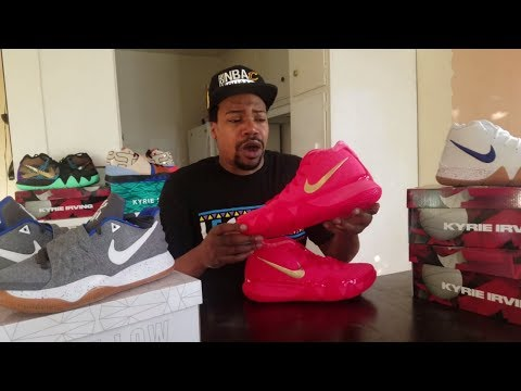 "KYRIE IRIVING'S NIKE KYRIE 4 ""RED CARPET"" DETAILED SNEAKER REVIEW & ON FEET ( (UNCLE DREW MOVIE)"